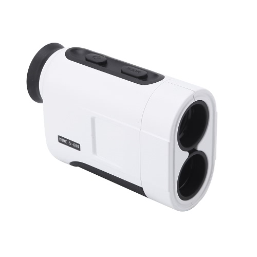 600m 6X Handheld Monocular Laser Range Finder Telescope Distance Meter Golf Hunting