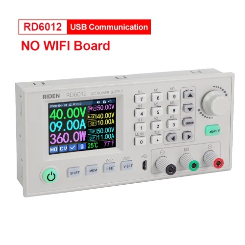 12A 720W Digital Control Power Supply DC to DC Adjustable Regulated Power Supply Varible Linear Benchtop Power Supply for Lab Life Science Factory