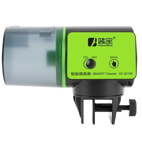 Alimentador automático inteligente de peces Acuario Pecera Alimentador de temporizador eléctrico
