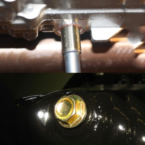 64 pcs Oil Pan Thread Repair Set Automotive Crankcase Speed-changing Box Drain Plug Tool