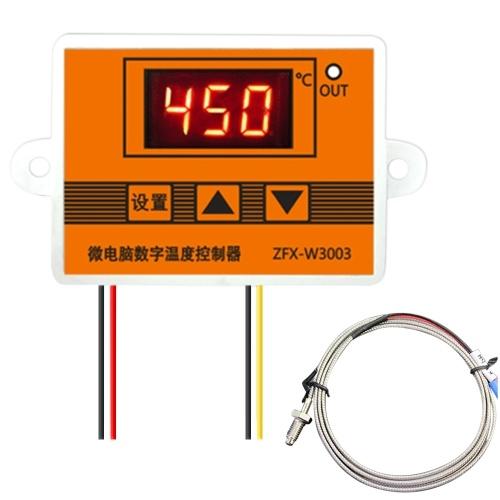 ZFX-W3003 Regolatore di temperatura digitale Termostato di controllo della temperatura del microcomputer intelligente per la cova del frigorifero del congelatore
