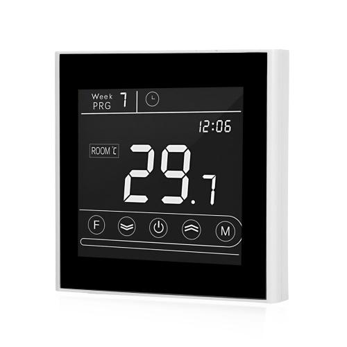 Smart Wifi Thermostat Programmierbare Wasserheizung Thermostat Temperaturregler LED-Anzeige Touchscreen Hintergrundbeleuchtung Fernbedienung Frostschutzfunktion Ersatz für Tmall Genie / Amazon Echo