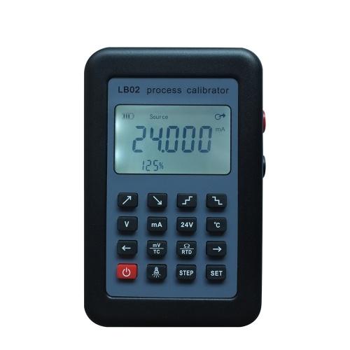 LB02 Multifunctional Calibrator Tester Resistance Current Voltmeter Portable Signal Generator
