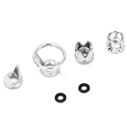 Set di accessori per aerografo professionale 4 pezzi diversi nuovi cappucci aria con 2 pezzi di o-ring