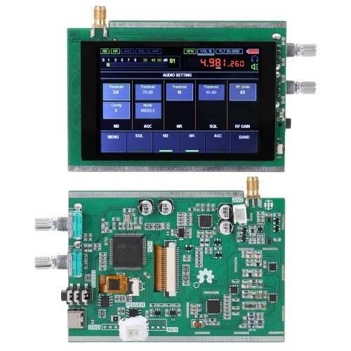 50 кГц ~ 250 МГц 400 МГц 2 ГГц Зарегистрированная версия Малахитовый SDR Радио Малахит DSP 3,5-дюймовый сенсорный экран SDR Радиолюбитель Приемопередатчик STM32H742