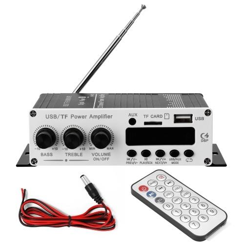 BTモーターサイクルカーコンピューターデジタルプレーヤー2チャンネルパワーアンプFMラジオロスレス音楽パワーアンプデジタルプレーヤー