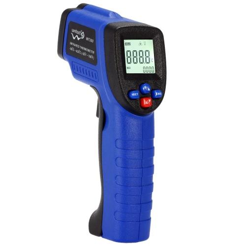 Портативный бесконтактный цифровой LCD лазерный ИК инфракрасный термометр тестер пирометра диапазон температур-50 ° C ~ 420 ° C