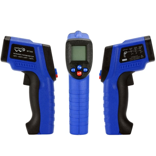 Handheld Non-Contact Digital LCD Laser IR Infrared Thermometer