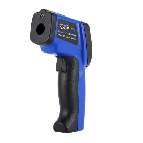 Termometro infrarosso a infrarossi laser a cristalli liquidi LCD a contatto non a contatto