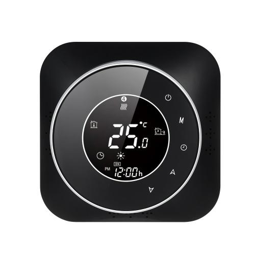 Programmierbarer 95-240-V-Thermostat 5 + 1 + 1 Sechs-Perioden-Touchscreen-LCD mit Temperaturregler für Warmwasserbereiter-Thermoregulator mit Hintergrundbeleuchtung