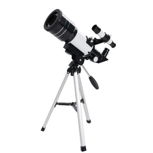 30070子供用望遠鏡ホリデーギフト天体望遠鏡プロフェッショナル星空望遠鏡コンパクト三脚単眼鏡