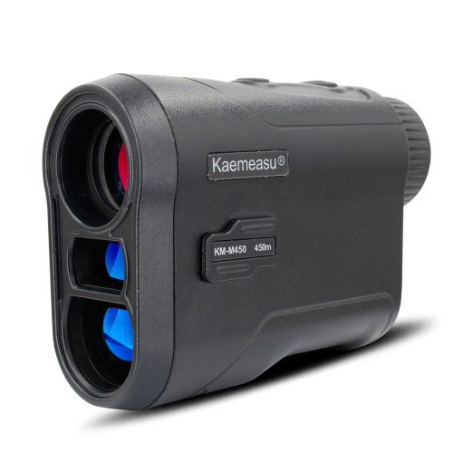 Laser Rangefinder Meter Outdoor Golfs Telescope Digital Monocular Finder Angle Speed Height Measuring Tool 450m/600m Laser Distance and Two Battery Types Optional