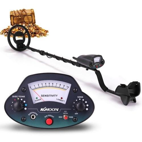 KKmoon MD-5070 8,7-дюймовая водонепроницаемая поисковая катушка Ручной портативный металлоискатель Простая установка Высокая чувствительность Высокая точность Металлоискатель Инструмент Сокровище Золотой Металлоискатель Подарок для взрослых и детей