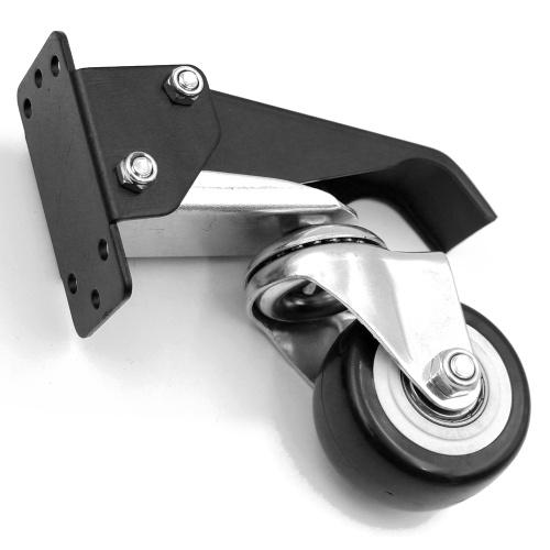 Движущиеся ролики из алюминиевого сплава Ролики для верстака Маневренность на 360 градусов Деревообрабатывающие инструменты DIY