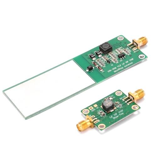 Mini-Whip 10KHz-30MHz 2-teiliges mittel- und kurzwelliges RTL-SDR-Aktivantennensystem Radioempfänger Elektronische Komponente