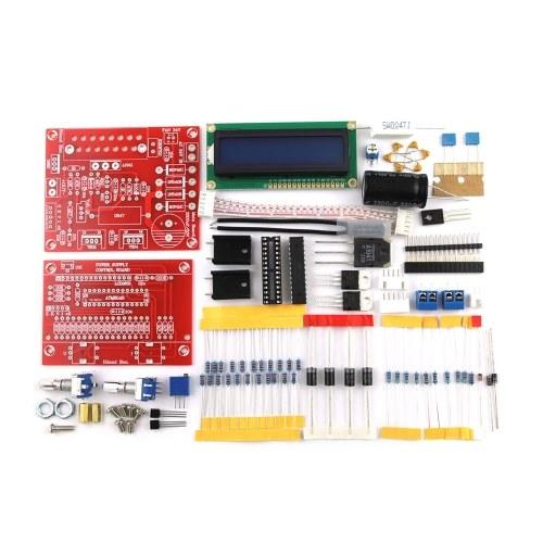 0-28V 0,01-2A Einstellbares DC-geregeltes Netzteil DIY-Kit LCD-Display Kurzschluss- / Strombegrenzungsschutz