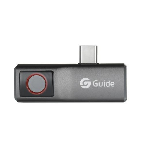 GUIA MobIR Air Thermal Imaging Camera para Smartphone Mini IR Thermal Imager Telefone Câmera térmica Add-on Câmera de imagem térmica Resolução 120x90 Faixa de medição -20 ℃ ~ 120 ℃ (-4 ℉ ~ 248 ℉)