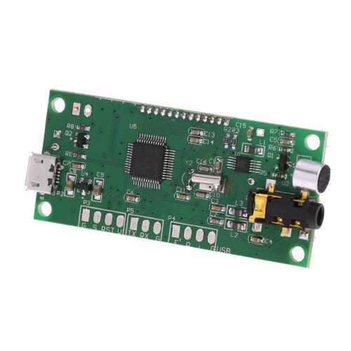 Digital FM Transmitter Module DSP PLL Wireless Stereo Microphone 87-108MHz