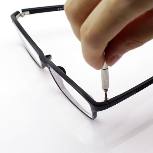 Glasses Repairing Screws Sunglasses Repairing Small Screws Kit Stainless Steel Tool Set About 1000PCS