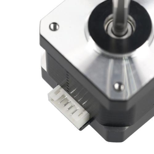 KKmoon 42 Stepper Motor Nema17 Stepper Motor 2-Phase Stepping Motor Step Motor 42BYGH 1.6A Motor 4-Lead for 3D Printer SMT Machine 1PCS