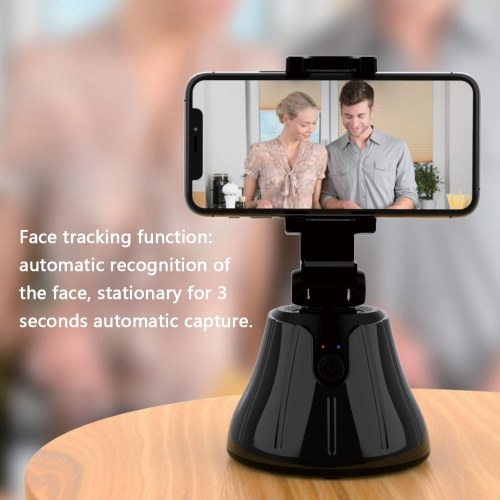 Intelligent Mobilephones Bracket Face Recognition Intelligent 360° Object Tracking Live Broadcasting Utility Tools ( Without Battery)