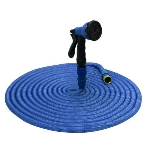 KKmoon Садовый шланг Эластичный шланг Расширяемый шланг для воды Гибкий расширяющийся шланг Шланг для полива газонов с распылительной насадкой 125 футов