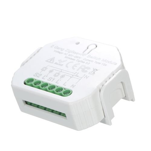 KKmoon 2 Gang ZigBee & RF Switch Module Intelligent Household  Switch Controller