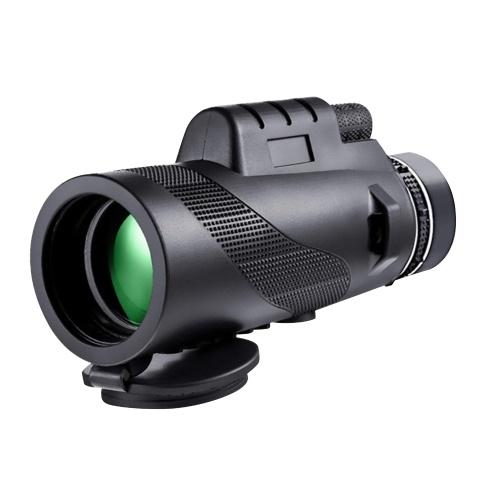 KKmoon 40×60 単眼高出力高精細望遠鏡ポータブルコンパクト単眼バードウォッチング狩猟キャンプ旅行スポーツマッチ