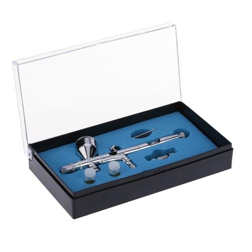 KKmoon Gravity Feed Dual-Action Airbrush Kit Set
