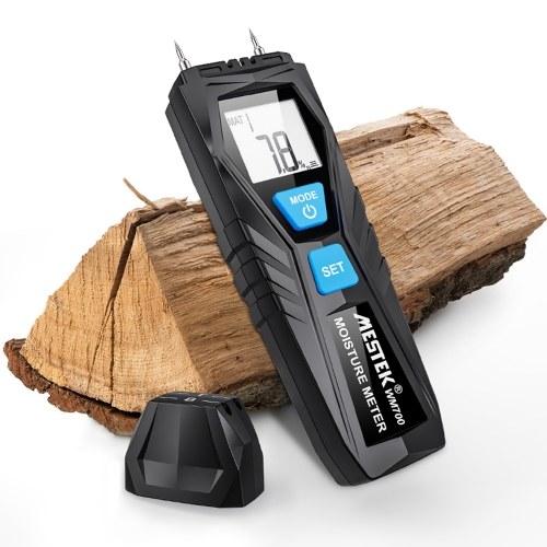 MESTEK WM700 Wood Moisture Tester ЖК-цифровой измеритель влажности пиломатериалов 2-контактный зонд Диапазон 1% 75%