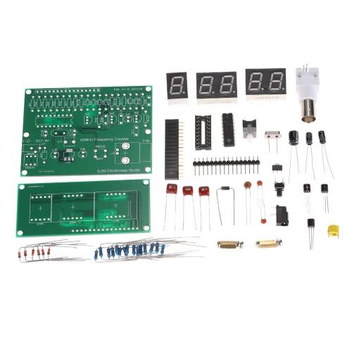 High Sensitivity 1Hz-50MHz Frequency Meter Counter Measurement Tester Module 7V-9V 50mA DIY Kit