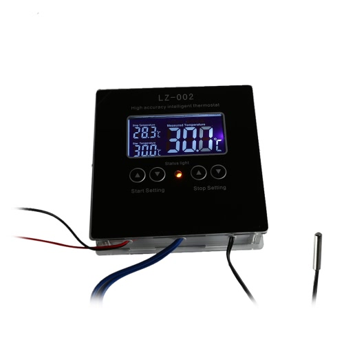 DC12V High-accuracy Intelligent Digital Thermostat DIY Kit -50°C~110°C Temperature Controller Heating Cooling Control