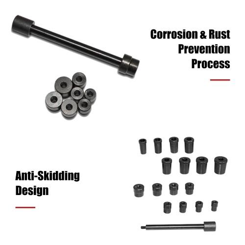17PCS Universal Coupling Clutch Centering Tools Car Clutch Alignment Tool Kit