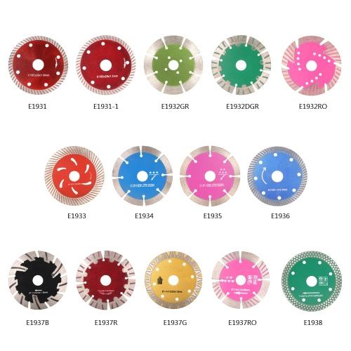 105 * 1,0 * 20 мм Алмазный отрезной диск пилы Continuous Turbo алмазным лезвием с 8 охлаждающих отверстий 20 мм Внутренний диаметр Керамический надрезывая для угловых шлифмашин Архитектурное проектирование архитектор фото
