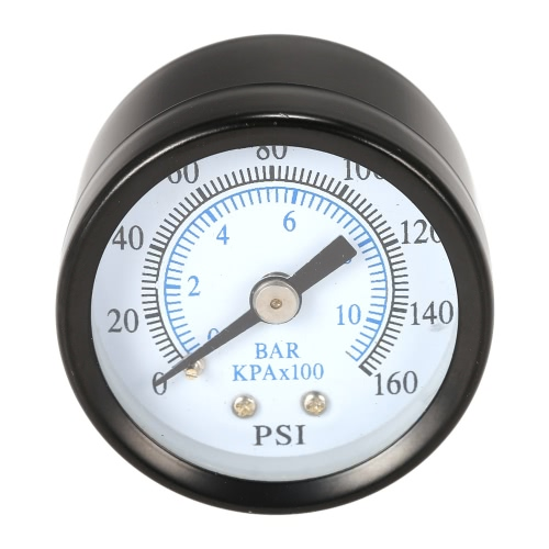 0 40mm 0 ~ 160psi ~ 10bar Pool Filter Wasserdruck Dial Hydraulische Manometer Meter Manometer 1/8