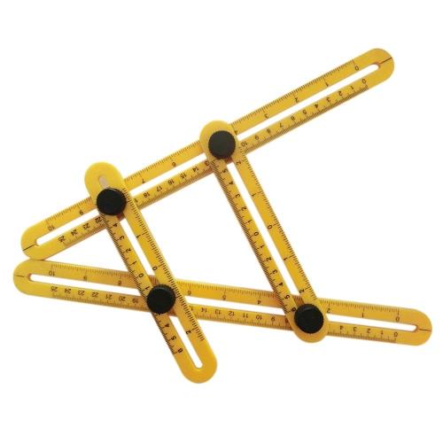 Multi-Angle Ruler Template Tool