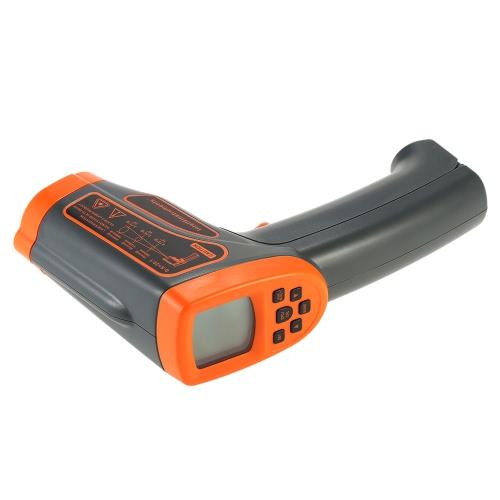 SMART SENSOR -18 ~ 1150 ℃ 50: 1 Многофункциональный USB Бесконтактный ИК инфракрасный термометр Портативный цифровой тестер температуры пирометр ЖК-дисплей с подсветкой по Цельсию Фаренгейт Регулируемая излучательной Хранение данных