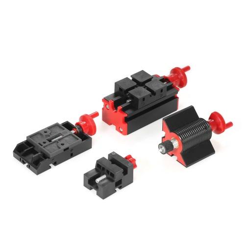 Mini DIY 6 в 1 Многофункциональный моторный трансформатор Многоцелевой станок Jigsaw Grinder Driller Пластиковый металлорежущий станок Токарно-винторезный станок Шлифовальный токарный фрезерный пильный станок Набор инструментов 100-240V