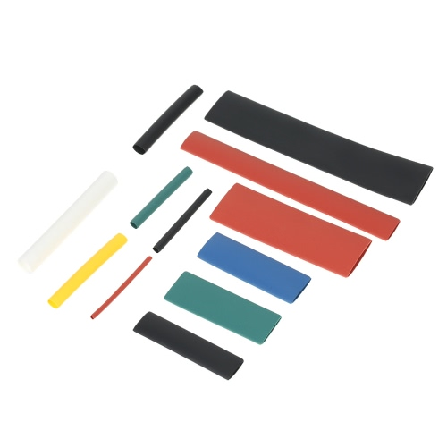 300pcs Colorful Polyolefin Halogen-Free Heat Shrink Tubing Tube Sleeving Wrap Wire Cable Kit Shrink Ratio 2:1 φ1.0-φ14mm
