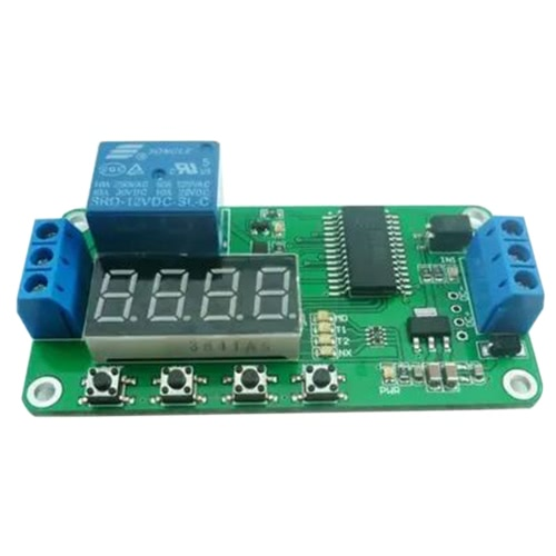 1CH 12V Digital Tube Multifunzione Delay relè Interruttore Timer PLC Home Smart