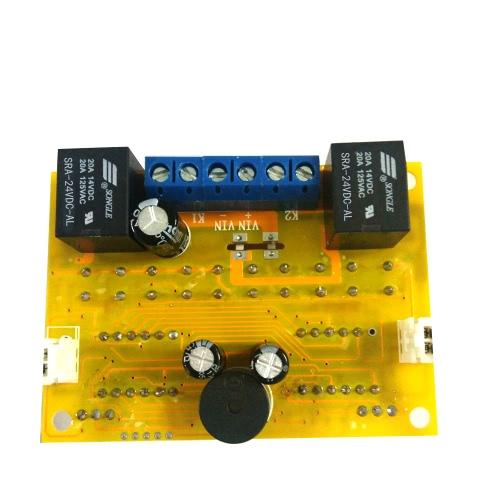W1012デュアルチャネルリレーモジュール汎用デジタル温度コントローラボードセンサ冷却/加熱プリワイヤード電子防水コンセントサーモスタット