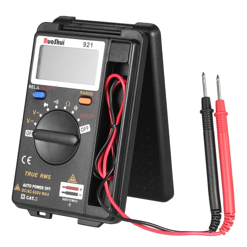 RuoShui Portable Pocket 3999 zählt Auto Range True RMS Multifunktions-Digital-Multimeter