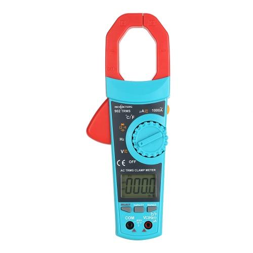 リコーダーRM902デジタルバックライトクランプメーター電圧計オートレンジマルチメーターAC DC電圧メーター温度測定温度計
