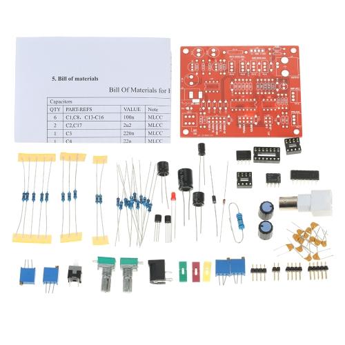 High Precision FG8038 (ICL8038) Функция Генератор сигналов DIY Kit Квадратный / Треугольный / Синусоидальный выход 3Гц-300 кГц Регулируемая амплитуда амплитуды