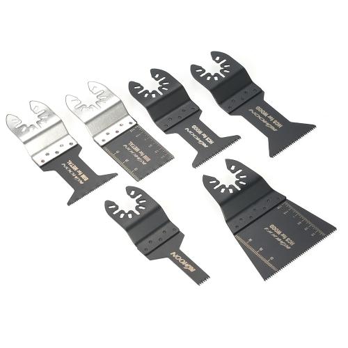 KKmoon 20pcs Wood Metal Oscillating Multi Tool Quick Release Saw Blade for Dremel Fein Multimaster Makita Bosch Craftsman Porter R