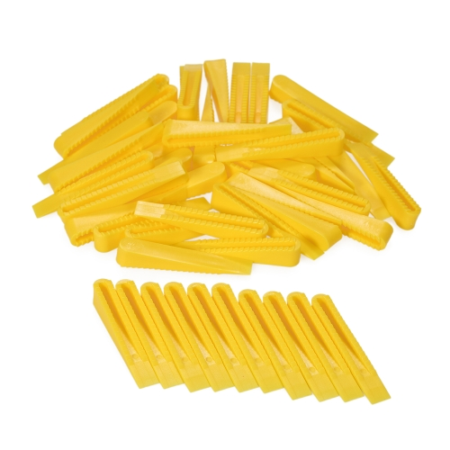 50pcs / set Многоразовые плитки выравнивания выравнивания и Spacer Wedges Tiling Tools - Малый размер