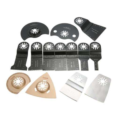 Kit de ferramentas múltiplas de lâmina de serra oscilante 14pcs / set