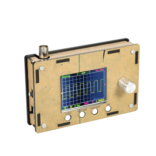 "DSO328 2.4 ""TFT Mini Tascabile Digitale Tascabile Mini Kit FAI DA TE Parti con Custodia SMD Saldatura Elettronica Set di Apprendimento 1Msps 0-200KHz STM32 Chip"