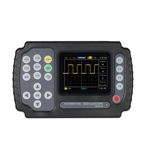 Портативный цифровой накопитель Автомобильный осциллограф Мультиметр ЖК-дисплей TFT 2 канала 10 МГц Полоса пропускания 100MSa / s Частота дискретизации