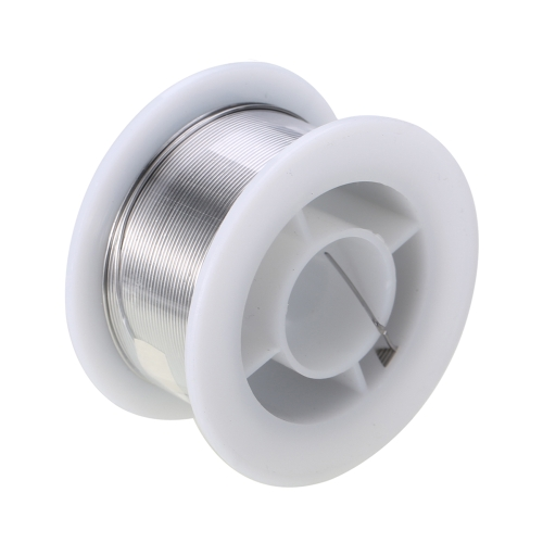 100g 0.6mm / 0.8mm / 1.0mm Soldadura de alambre de plomo de estaño Derretir colofonia 1.8% Rollo de fundente Soldadura de soldadura de cables para soldadura eléctrica